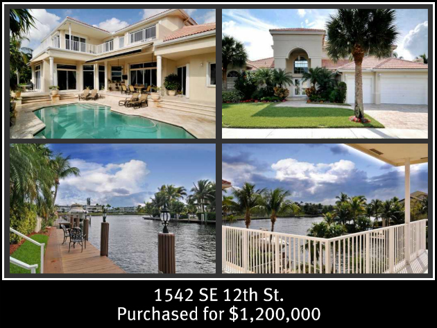Deerfield Beach Waterfront Home