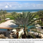 Oceanfront views at Dolcevita Condo