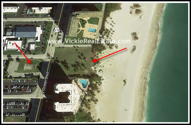 New Oceanfront Condo Construction in Pompano Beach at 730 N ... on map of san diego beaches, map of south daytona fl, map of tampa and pompano,