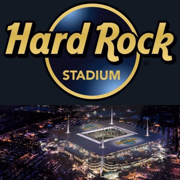 The Newly Named Hard Rock Stadium Miami Dolphins Home