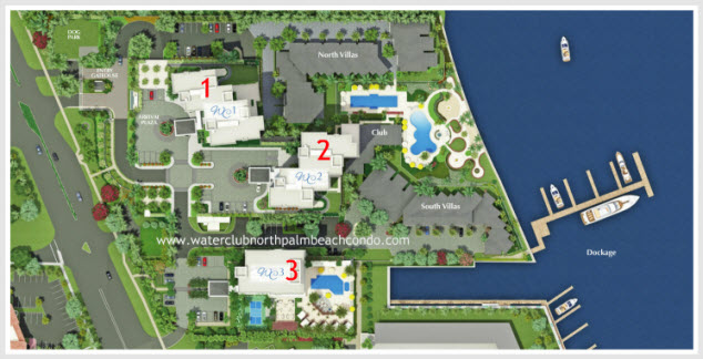 water club north palm beach siteplan