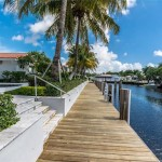 Sold for $1,330,000:  Lighthouse Point Waterfront Home