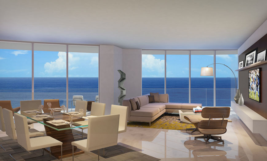 living room ft lauderdale paramount ft lauderdale residences construction amp prices 15332